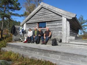 Frank og Ingun Holvik m/venner
